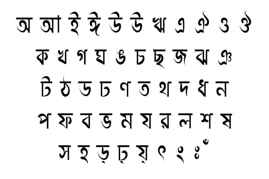 Sonar Bangla font download